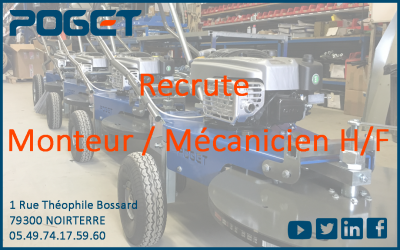 Recrute Monteur / Mécanicien H/F