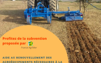 Aide financière proposée par FranceAgriMer